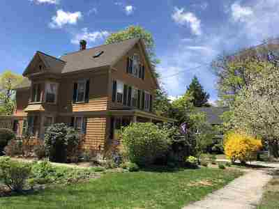 Concord Single Family Home For Sale: 39 Auburn Street