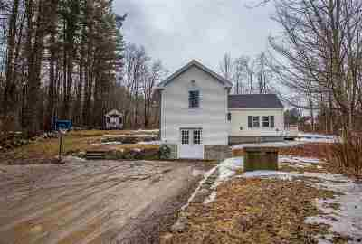 Goffstown Single Family Home Active Under Contract: 33 Bog Road
