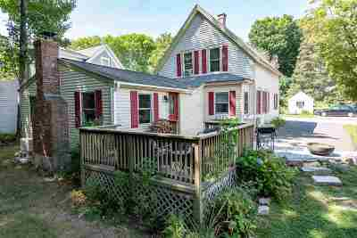 Wolfeboro Single Family Home Active Under Contract: 6 Oak Street