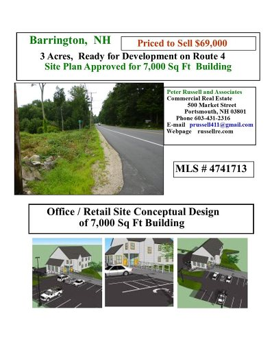 Strafford County Residential Lots & Land For Sale: 6 Glass Lane