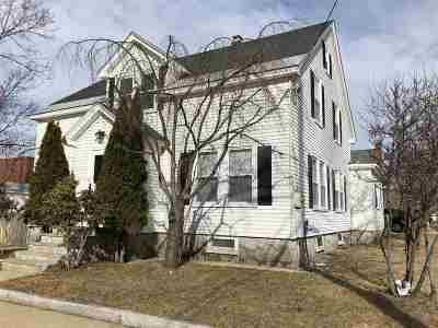 Manchester Single Family Home For Sale: 113 Hall Street