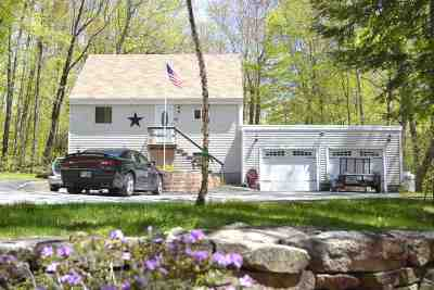 Moultonborough NH Single Family Home For Sale: $278,000