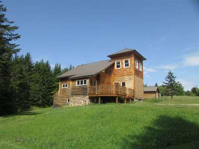 Craftsbury Single Family Home For Sale: 1380 Town Line Road