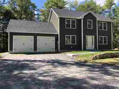 Merrimack County Single Family Home For Sale: 1066 Upper Straw Road