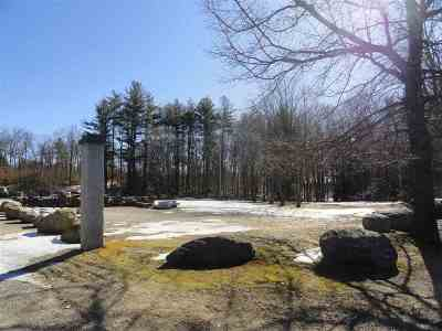 Henniker Commercial For Sale: 929 Old Concord Road