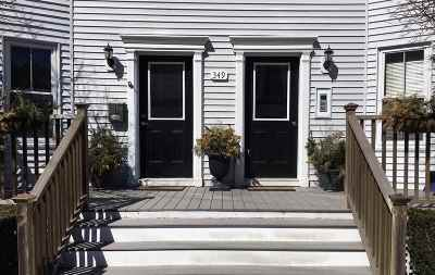 Condo/Townhouse For Sale: 349 Hanover Street #6
