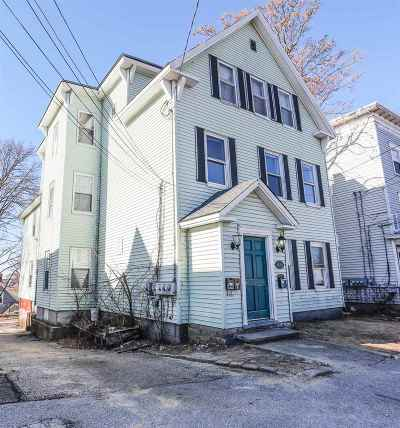 Manchester Multi Family Home Active Under Contract: 433 435 Hanover Street