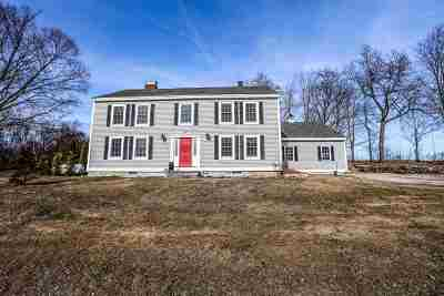 Derry Single Family Home Active Under Contract: 104 English Range Road
