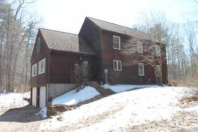 Francestown Single Family Home Active Under Contract: 1005 Greenfield Road