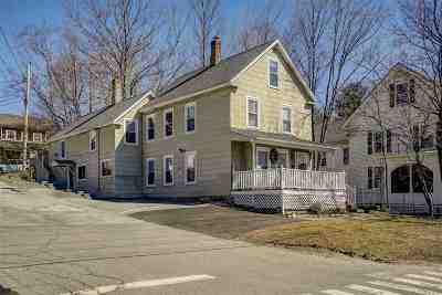 Goffstown Multi Family Home For Sale: 27 S Mast Street