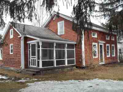Castleton Multi Family Home For Sale: 968 Route 4a West Road