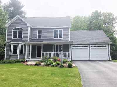 Concord Single Family Home Active Under Contract: 53 Hayward Brook Drive