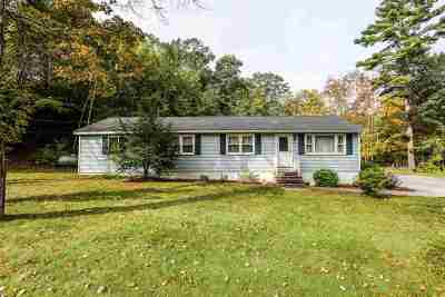 Goffstown Single Family Home Active Under Contract: 311 Tirrell Hill Road