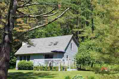 Starksboro VT Single Family Home For Sale: $259,500