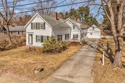 Amherst Single Family Home Active Under Contract: 7 Foundry Street