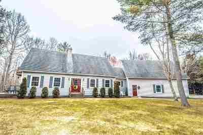 Newbury Single Family Home For Sale: 6521 Us Route 5 S