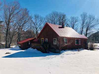 Rumney Single Family Home Active Under Contract: 426 Depot Street