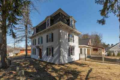 Dover Single Family Home For Sale: 46 Back River Road
