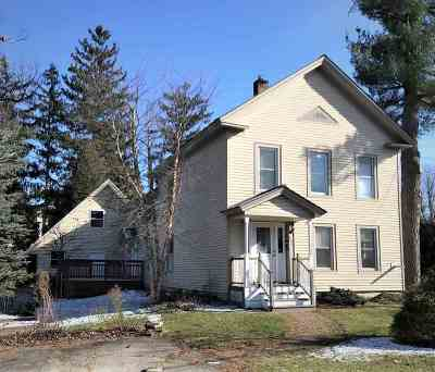 Rutland, Rutland City Single Family Home For Sale: 126 Pearl Street