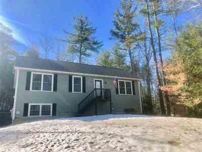 Barnstead Single Family Home For Sale: 69 Old Rochester Road