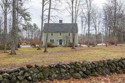 Hopkinton Single Family Home Active Under Contract: 1488 Hatfield Road