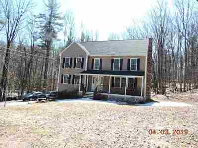 Northwood Single Family Home For Sale: 25 Old Mountain Road