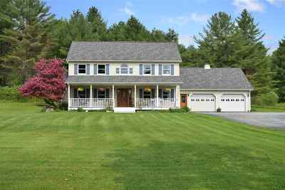 East Montpelier Single Family Home For Sale: 1733 Us Rte 2