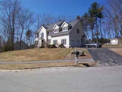 Nashua Single Family Home Active Under Contract: 4 Sweet Meadow Drive