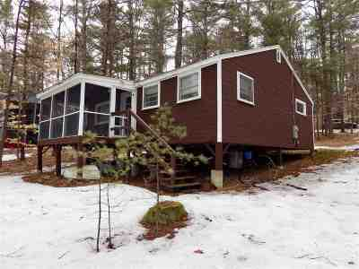 Wolfeboro Single Family Home Active Under Contract: 220 McManus Road