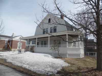 Montpelier Single Family Home Active Under Contract: 29 College Street
