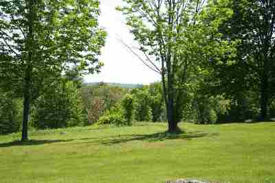Henniker Residential Lots & Land For Sale: 581 Depot Hill Road