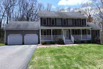 Hooksett Single Family Home For Sale: 1 Ridgeview Drive