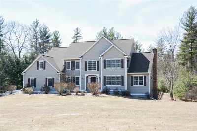Merrimack Single Family Home Active Under Contract: 4 Westcott Drive