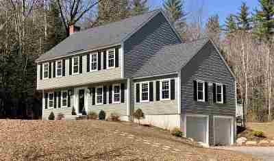 Concord Single Family Home Active Under Contract: 5 Spillway Lane