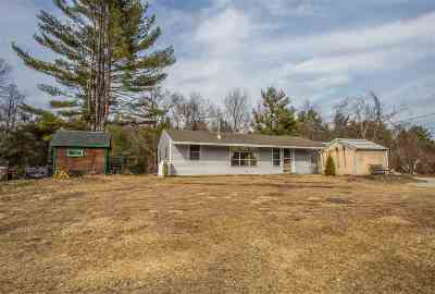 Goffstown Single Family Home Active Under Contract: 166 N Mast Street