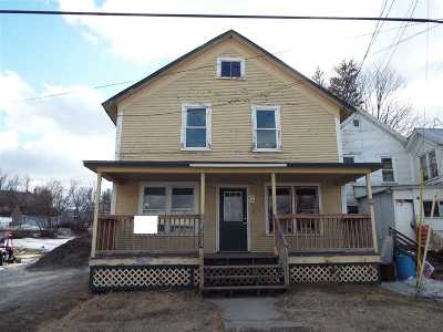 Richford Multi Family Home For Auction: 26 Troy Street