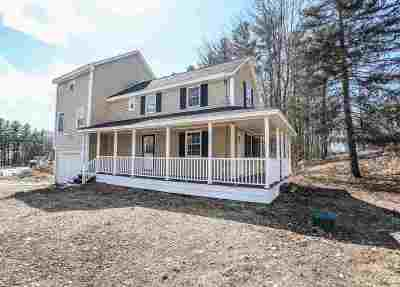 Goffstown Condo/Townhouse For Sale: 6 Cedar Way