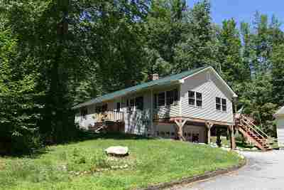 Rutland Town Single Family Home For Sale: 2728 East Pittsford Road