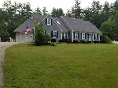 Weare Single Family Home Active Under Contract: 132 Dustin Tavern Road