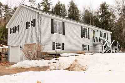 Center Harbor Single Family Home Active Under Contract: 271 McCrillis Hill Road