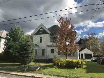 Richford Single Family Home For Sale: 52 North Avenue
