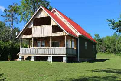 Grand Isle County Single Family Home Active Under Contract: 4277 West Shore Road