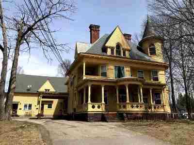 Laconia Single Family Home Active Under Contract: 147 Pleasant Unit #3 Street #Unit # 3