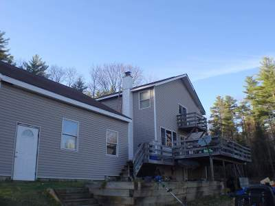 Littleton NH Single Family Home For Sale: $299,000
