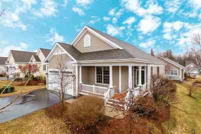 South Burlington Condo/Townhouse For Sale: 108 Upswept Lane #108