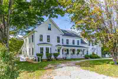 New Boston Single Family Home For Sale: 480 Mont Vernon Road