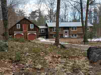 Moultonborough Single Family Home Active Under Contract: 463 Shaker Jerry Road