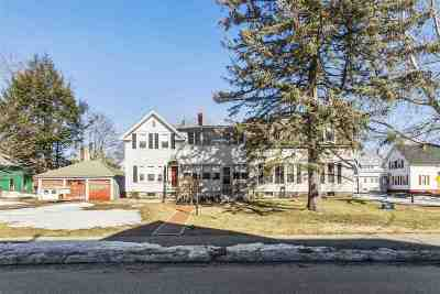 Concord Multi Family Home Active Under Contract: 14 Grove Street