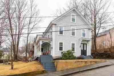 Somersworth Single Family Home Active Under Contract: 22 Grove Street