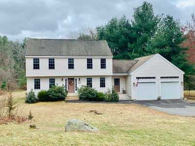 Hudson Single Family Home Active Under Contract: 39 Pelham Road